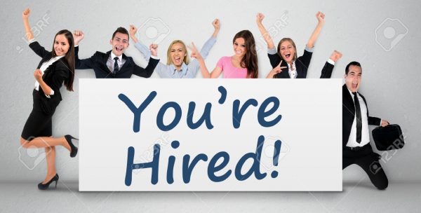 You are hired word