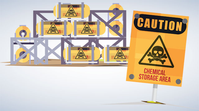Chemical Handling, Control and Spill Response